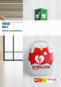 SCHILLER-Defi-Produktbroschuere