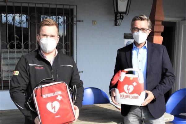 Defibrillator für Tennisclub Mühlhausen